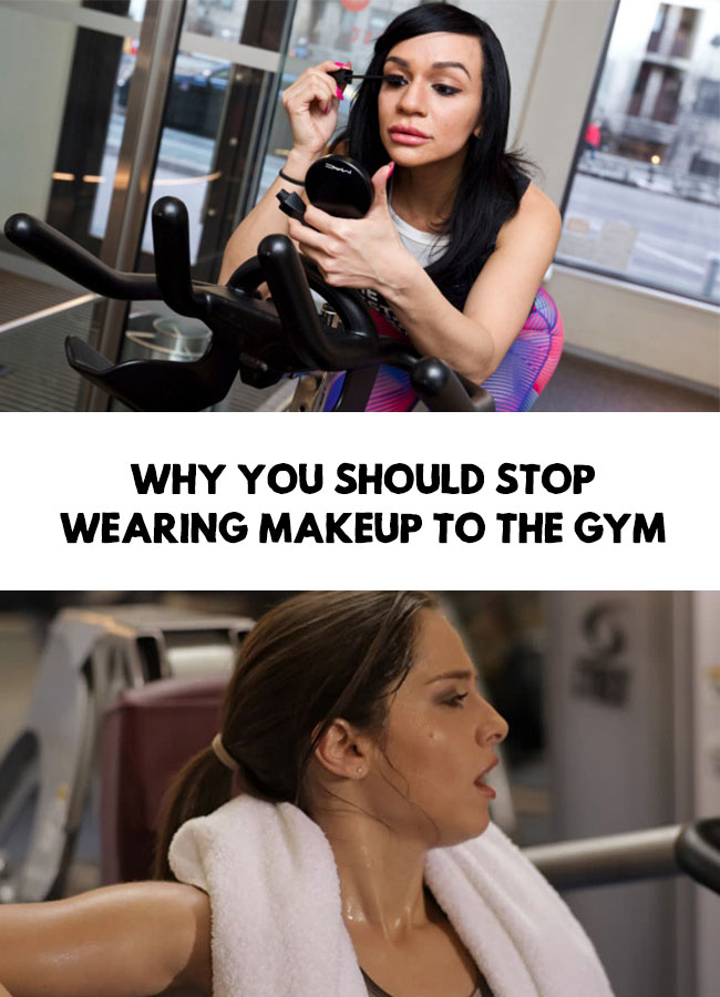 Makeup at the gym